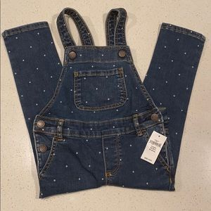 BRAND NEW!! Dot Denim Overalls
